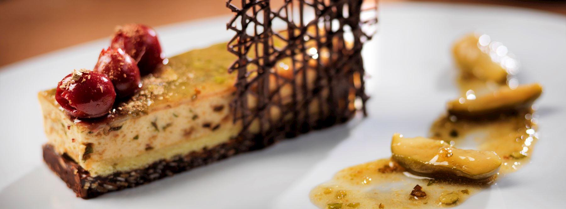 Mouthwatering dessert